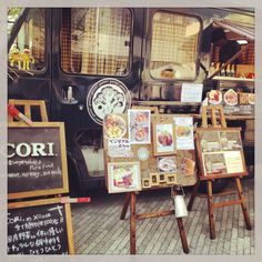"""Circus of the starry sky and the sun. Event in Tokyo Nakano.  It was very good in the shop of vegan! """"CORI"""""""