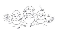 Sliekje digi Stamps: Easter
