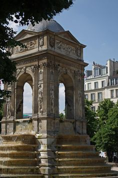 The Fountain of the Innocents, Paris Copyright: Laurent Girard.near my rue St Denis apt Neoclassical Architecture, Architecture Details, Paris Travel, France Travel, Most Beautiful Cities, Wonderful Places, Paris France, Ville France, Belle Villa