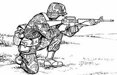 Army Vehicles Coloring Pages Free Colouring Pictures to