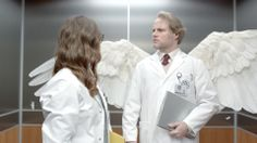 VW engineers sprout wings in Super Bowl ad - Sneak peek on TODAY   Hahahahaha!!!!!    2014