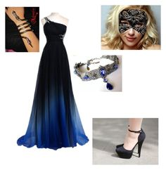 """Random Masquerade."" by therealmadhatter ❤ liked on Polyvore featuring NUE"
