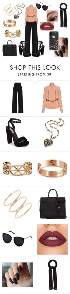 """""""Spring Hijabi"""" by shayma-sheikh ❤ liked on Polyvore featuring Stella Jean, Steve Madden, Avon, Cartier, Yves Saint Laurent, Missoni and Kate Spade"""
