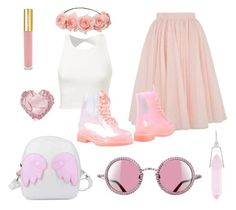 """""""PINK FESTIVAL"""" by princessofblackness on Polyvore featuring Ted Baker, Isaac Mizrahi, PrimaDonna and Alex and Ani"""