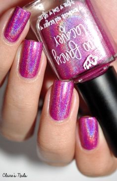Positively Pink - Too Fancy Lacquer.