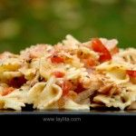 Quick and easy recipe for pastas in a tomato and tuna sauce.