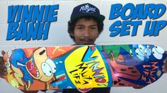 VINNIE BANH PRO BOARD SET UP & INTERVIEW !!!: WATCH MORE BOARD SET UPS HERE… #Skatevideos #BANH #board #interview #VINNIE