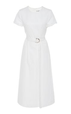 Get inspired and discover Lein trunkshow! Shop the latest Lein collection at Moda Operandi. Elegant Office Wear, Elegant Outfit, Beautiful Dresses, Nice Dresses, Casual Dresses, Off White Dresses, Chic Dress, White Fashion, Classy Outfits