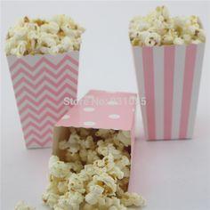 Free-shipping-120pcs-lot-Baby-Shower-Decoration-pink-girl-blue-boy-Paper-cinema-popcorn-box-small.jpg (800×800)