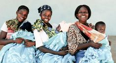 Happy moms in Zambia!