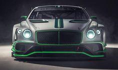 Bentley Reveals New Continental GT3