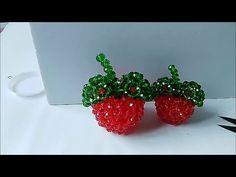水晶串珠 植物類饰品 蘋果 1/2 - YouTube