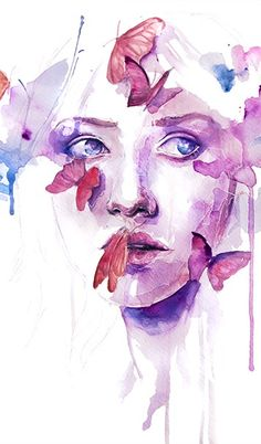 """About a New Place"" by Agnes Cecile aka Silvia Pelissero. I love this one SO much."