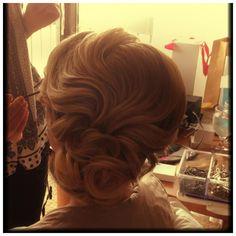 Gorgeous Vintage hairstyle