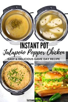 Instant Pot Jalapeño Popper Chicken – your new go-to party appetizer! Loaded with rich cream cheese, spicy jalapeños, sharp cheddar, & tender chicken. Jalapeno Popper Chicken, Jalapeno Poppers, Chicken Dips, Chicken Recipes, Taste And See, Game Day Food, Chicken Tenders, Appetizers For Party, Cheeseburger Chowder
