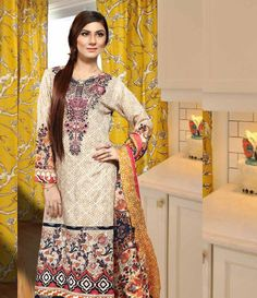 Dhanak Embroidered Lawn Collection ST_2004_B