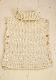 Poncho Scarlett crochet by Muki Crafts