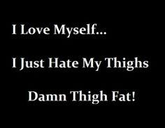 #thigh gap #thigh fat