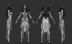 Tyrande Whisperwind by George Panfilov | Fan Art | 3D | CGSociety