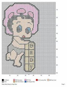 BABY BETTY BOOP by HOPE BAER -- WALL HANGING