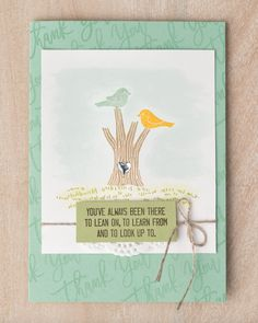 We absolutely love how versatile the Thoughtful Branches stamp set and thinlit set are. #stampinup #thoughtfulbranches