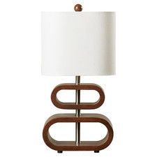 """Dobbsland 19.5"""" H Table Lamp with Drum Shade"""