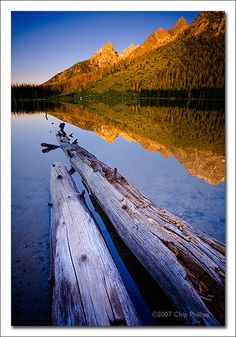 Sunrise Teton Reflection - String Lake - Grand Teton National Park, Wyoming