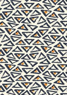 pattern by Minakani #minakani #pattern #triangles #ethnic