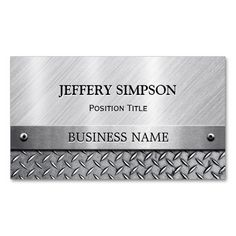 Brushed metal business card business cards print templates brushed metal business card business cards print templates modern pinterest print templates business cards and card printing colourmoves