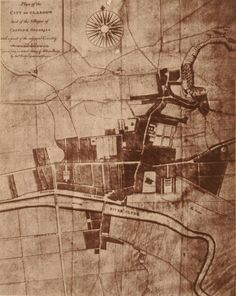 Maps of Glasgow: The City in 1776