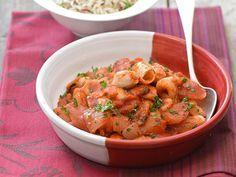 Découvrez la recette Calamars à l'armoricaine sur cuisineactuelle.fr.