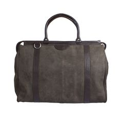 Travel leather bag, real weekendbag!