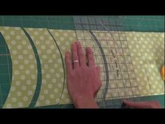 """Quick Curve Ruler """"Cutting Curves"""" from Jenny Pedigo This looks like a great ruler.....fun!"""