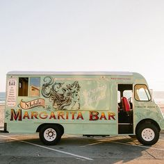 Mixing it up this morning. The @rastaritamargarita mobile bar from Manhattan Beach CA. Caught a glimpse of her at Orange County Fashion Week a couple of months back.