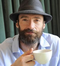 Hugh Jackman may be Blackbeard in Pan Hugh Jackman Images, Hugh Wolverine, Hugh Michael Jackman, I Love Beards, Dream Guy, Hollywood Glamour, No One Loves Me, Man Crush, Bearded Men