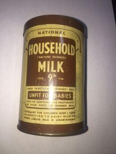 National Household Milk - England - 1930
