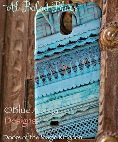 AL Balad Blue Roshan design cover on Samsung S4 #doorsofthemagickingdom #phonecover #design #unique #jeddah #albalad #ksa #saudiarabia