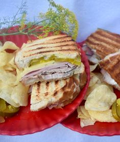 Celebrate National Mustard Day with these delicious sandwich (perfect for summer, or any other time of year). Grilled Pork Roast, Pork Roast Recipes, Marinated Pork, Butter Potatoes, Perfect Grill, Deli Ham, Grilled Sandwich, Delicious Sandwiches, Apple Butter