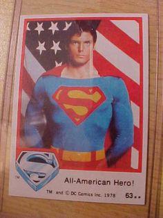 Superman the movie 1978 Card #63 mint