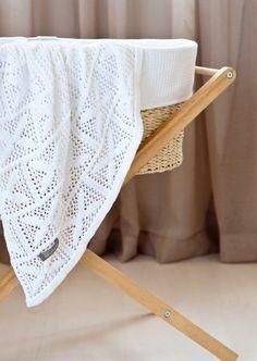 Knitting Pattern For Bassinet Blanket : Blankets on Pinterest Greek Key, Baby Blankets and Bassinet