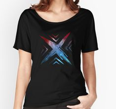 """""""X Symbol - Color Edition"""" Women's Relaxed Fit T-Shirts by Lidra 