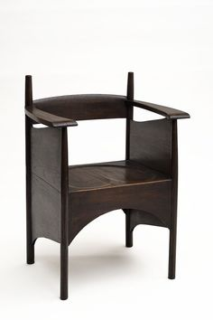 Design is fine. History is mine.      — Charles Rennie Mackintosh, chair for the Argyle...