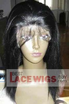 Buy lace wigs african american women,lace wigs atlanta georgia from BLWB[best lace wigs buy]! There is yaki Straight balck  Full Lace wigs 100% Human hair