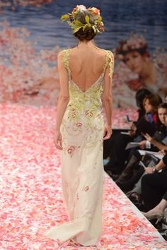 Claire Pettibone Wedding Dresses Fall 2013: Enchanting Bohemian Elegance