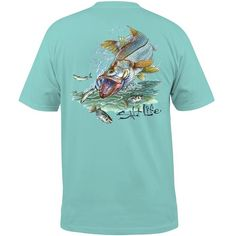 Snook Explosion Pocket Tee