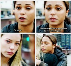 Chicago Fire- Shay and Dawson make up :)