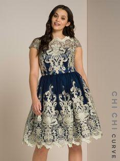Chi Chi Curve Yazzy Dress