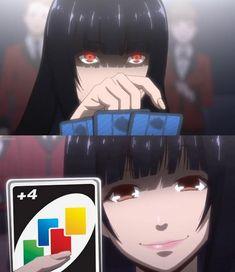 now kakegurui seems a good anime Anime Meme, Manga Anime, Otaku Anime, Anime Art, Animes Wallpapers, Anime Shows, Aesthetic Anime, Yandere, Anime Style