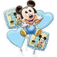 Cute 50% off Mickey Mouse 1st Birthday Party Supplies