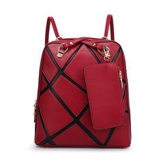 shoulder bag handmade Compound cowhide leather Backpacks !